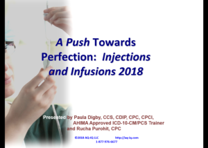 Title Slide Injections and Infusions 2018